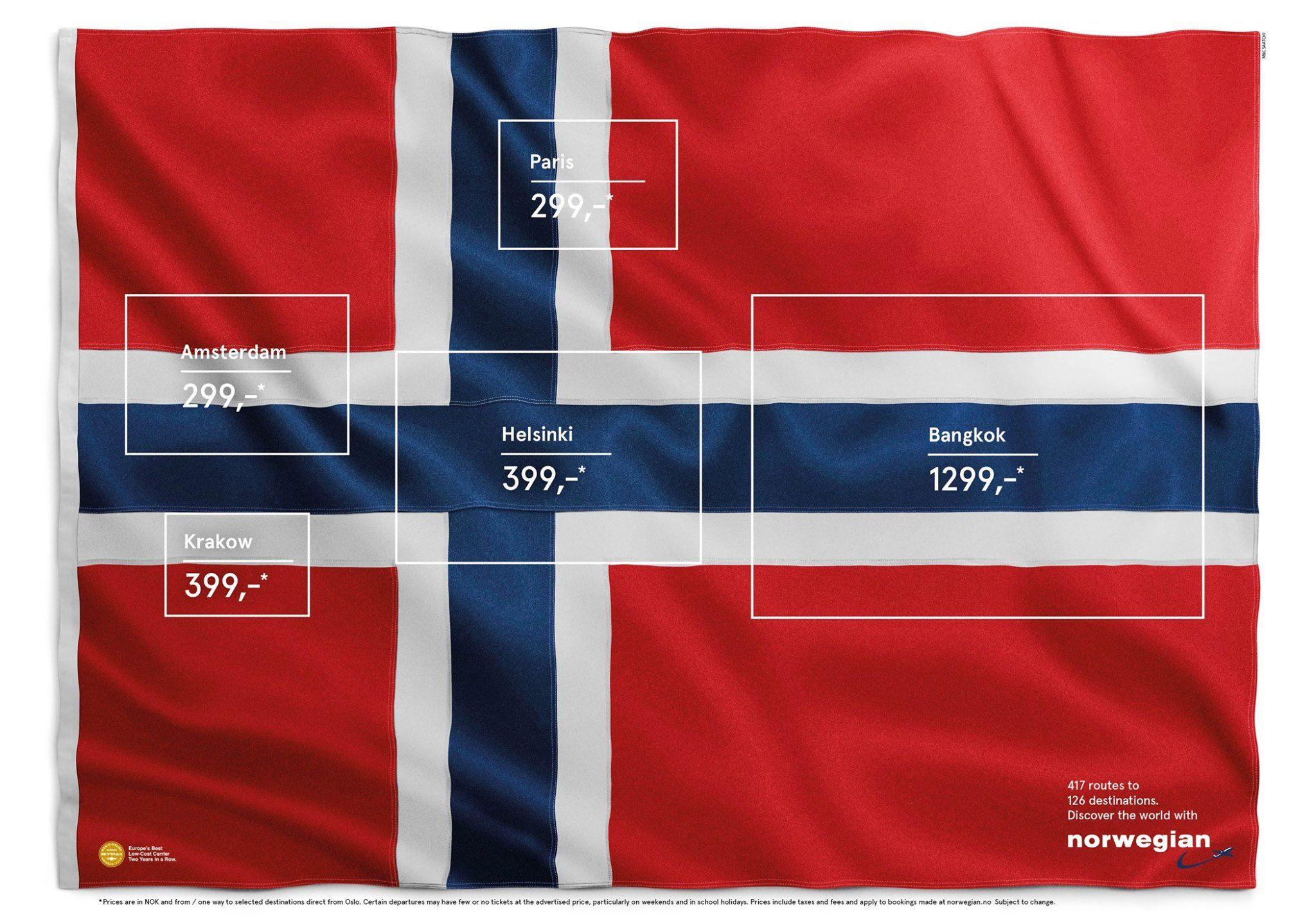 Norwegian Airlines ad
