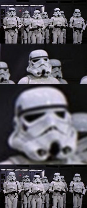 Stormtrooper face swap
