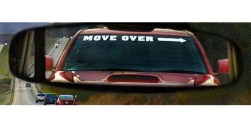 Move over car