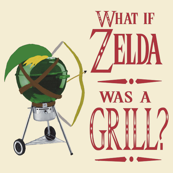 What if Zelda was a grill?