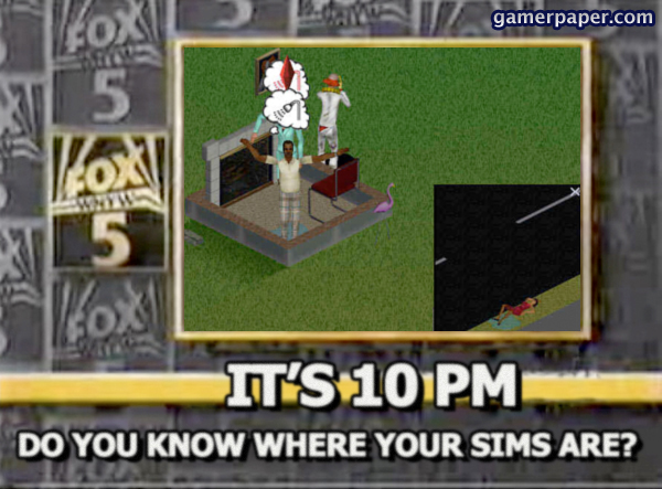 Sims 10pm