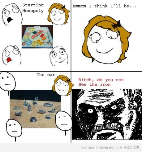 Rage comic Monopoly