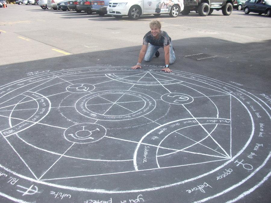 Edward Elric transmutation circle