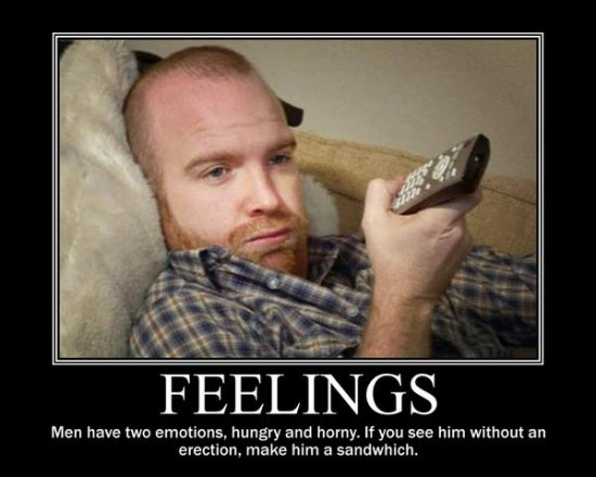 Men feelings