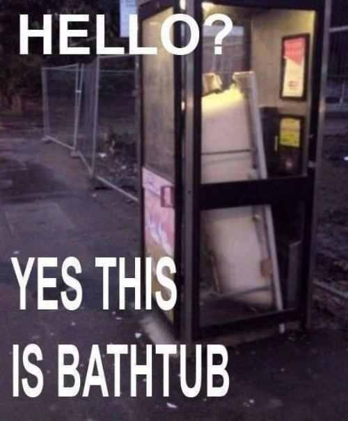 Yes this is bathtub