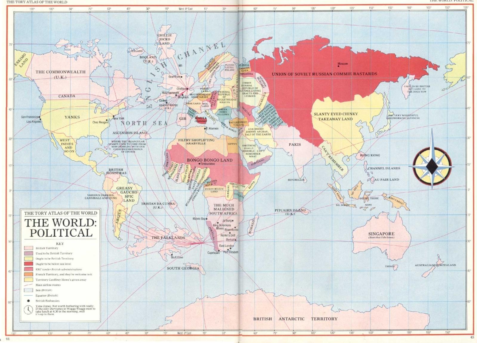 Tory atlas