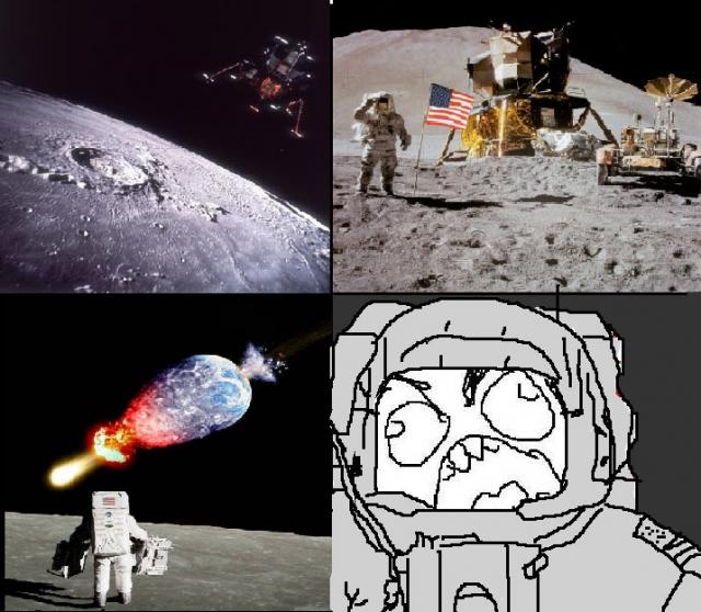 Moon comic