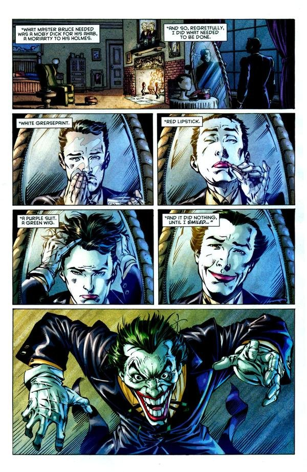 Alfred is the Joker