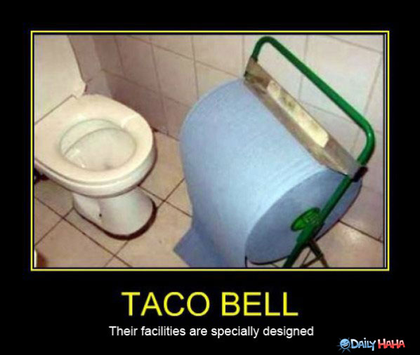 Taco Bell toilet paper