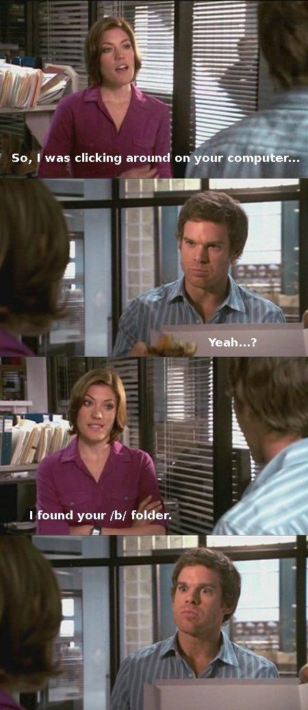 Dexter /b/ folder