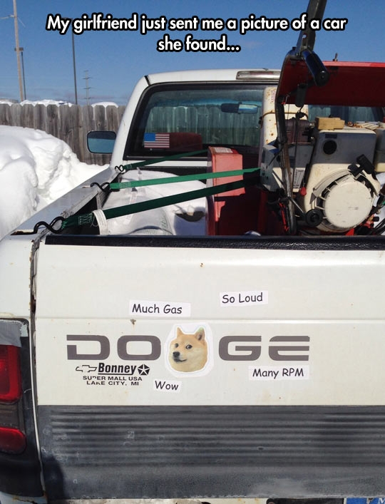 Doge truck