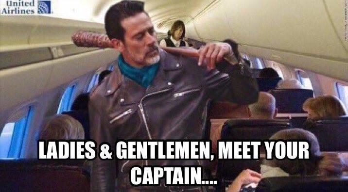 Ladies & gentlemen, meet your captain