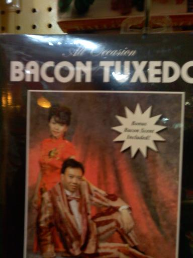 Bacon tuxedo