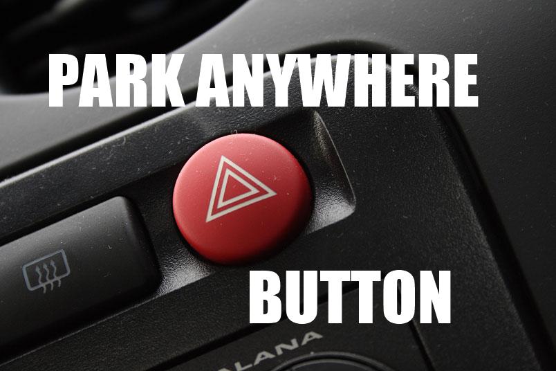 Car park anywhere button