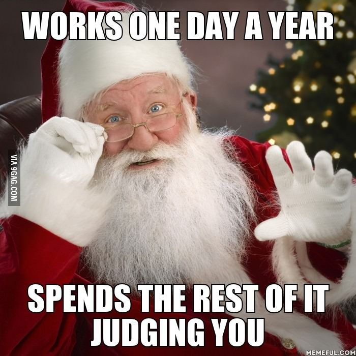 Works one day a year, spends the rest of it judging you