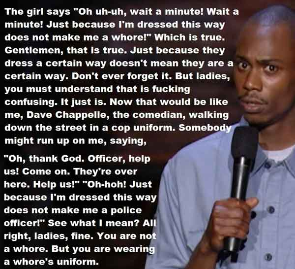 Dave Chappelle whore