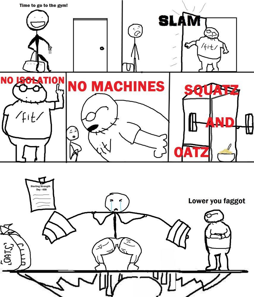 Squatz and oatz comic