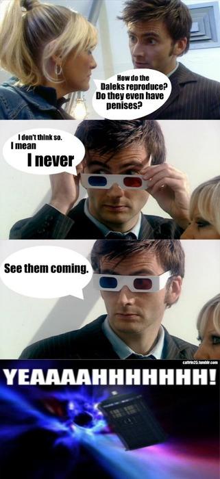Dr Who Dalek reproduce