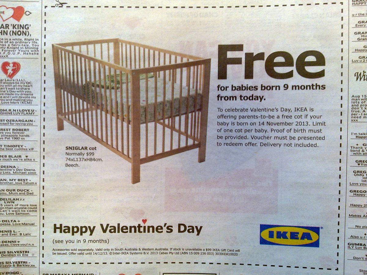 IKEA free bed