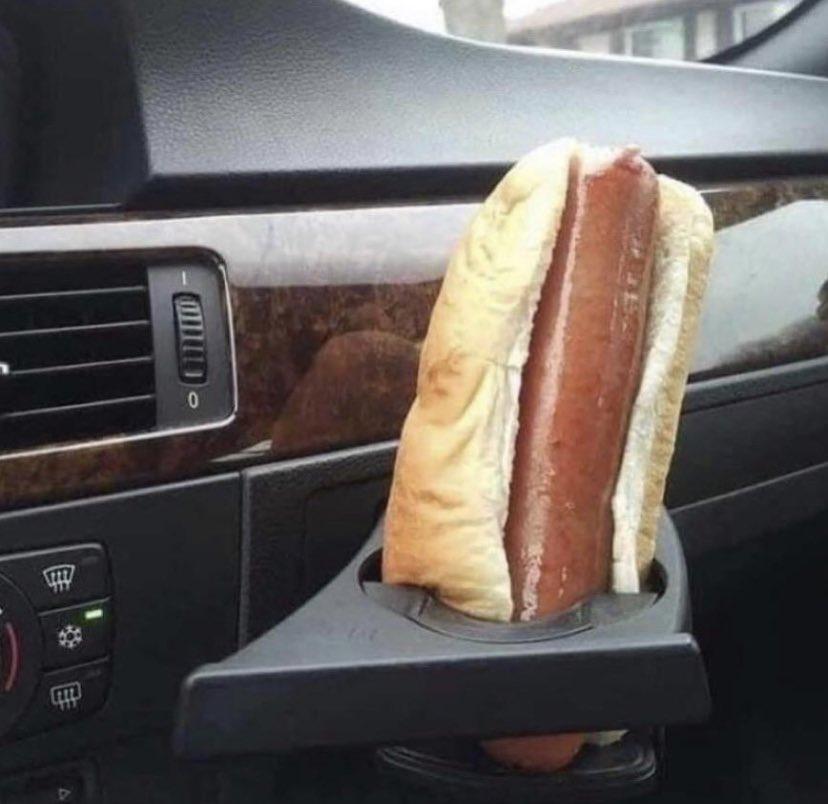 Hot dog holder