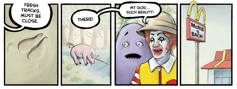 Perry Bible Fellowship McRib